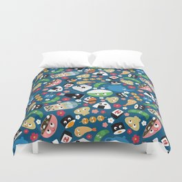 Bento Box Duvet Cover