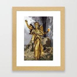 Triumph After The Storm Framed Art Print