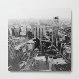 33rd Floor - Detroit, MI Metal Print