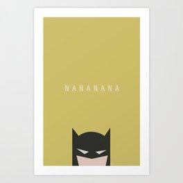 Nanana Art Print