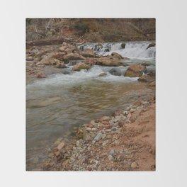 Virgin_River Falls 0898 - Zion Court Throw Blanket