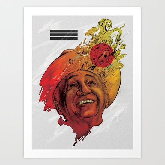 Tío Simón Art Print