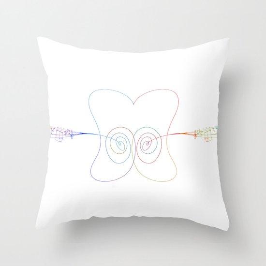 Earworm Throw Pillow