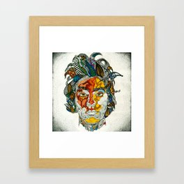 Paised and Confused Framed Art Print