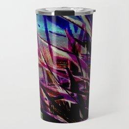 Crystallize-photo montage Travel Mug
