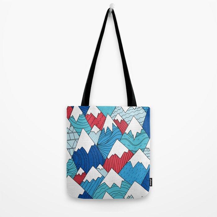 Mountain Pattern 2.0 Tote Bag