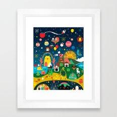 Super Mini Universe Print Framed Art Print