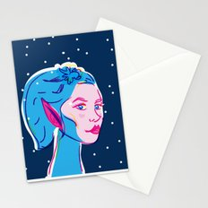 Pixie in the Sky of Diamonds Stationery Cards