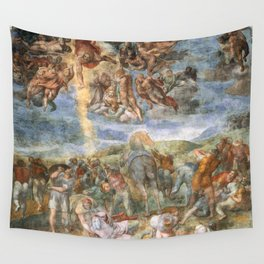 "Michelangelo ""The Conversion of Saul"" Wall Tapestry"