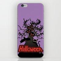 halloween iPhone & iPod Skins featuring Halloween by BATKEI