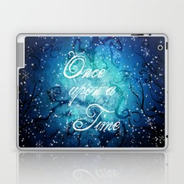 Once Upon A Time ~ Winter Snow Fairytale Forest Laptop & iPad Skin