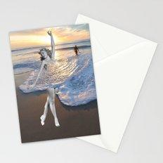 Like a wave Stationery Cards
