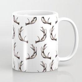 Watercolor Antlers Coffee Mug