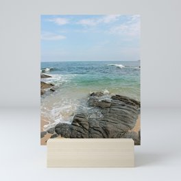 colors of the sea Mini Art Print