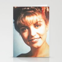 """laura palmer Stationery Cards featuring Twin Peaks """"Laura Palmer"""" by Spyck"""