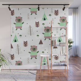 Forest Animals Wall Mural