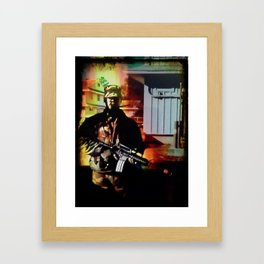 Fire!!!!  Framed Art Print