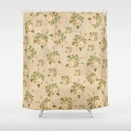 Floral Vintage Shower Curtain