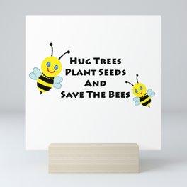 SaveThe Bees Mini Art Print