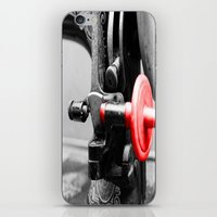 sewing iPhone & iPod Skins featuring Sewing Machine by Four Hands Art
