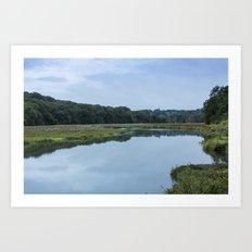 Deveron River West Art Print