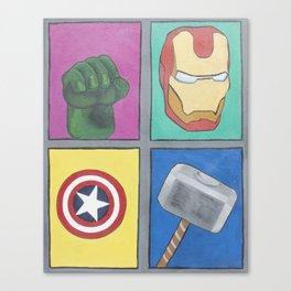 Los 4 Fantasticos Canvas Print