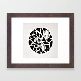dream catcher logo Framed Art Print