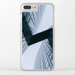 Modern Geometric Architecture Photograph Clear iPhone Case