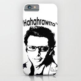 Hahahrawrrahaha iPhone Case