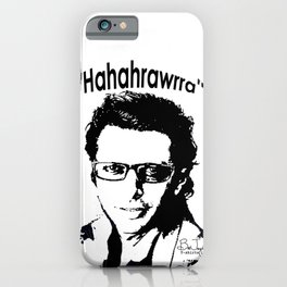 Hahahrawrrahaha iPhone Case