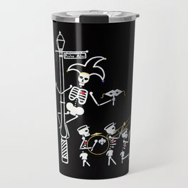 Pirate's Alley Jester and Marching Band Travel Mug