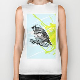 Sparrow me Biker Tank