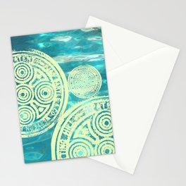 swimmingly three Stationery Cards