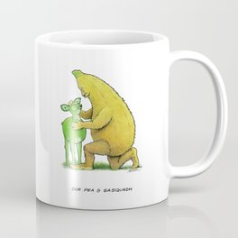 Doe Pea & Sasquash Coffee Mug