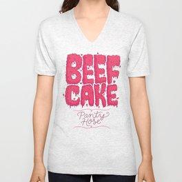 Beef Cake Unisex V-Neck