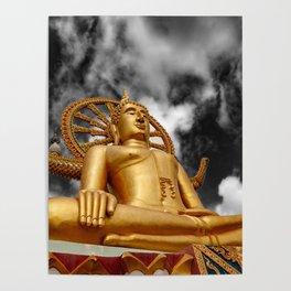Big Buddha Thailand Poster