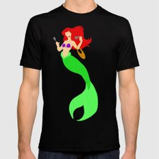 Ariel SMALL Black Mens Fitted Tee