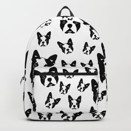 CHRISTMAS GIFTS for the Boston Terrier lover from MONOFACES in 2020 Backpack