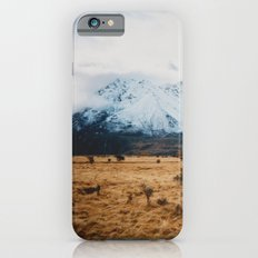 Peaceful New Zealand mountain landscape iPhone 6s Slim Case