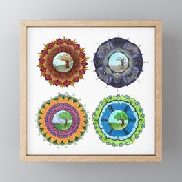 Seasons Framed Mini Art Print