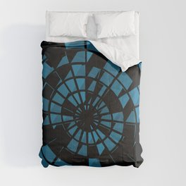 Abstract Dartboard Comforters