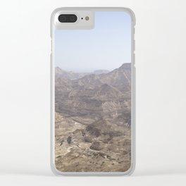 Dhofari Coast, Oman Clear iPhone Case
