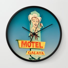 Motel Galata Wall Clock