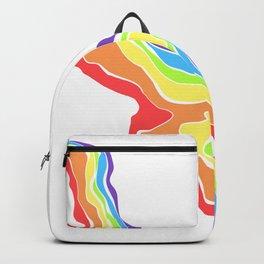 Rainbow Stripe 13 Backpack