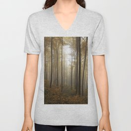Lost in the forest Unisex V-Neck