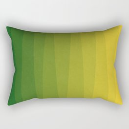 Shades of Grass - Gradient between Lime Green and Bright Yellow Rectangular Pillow