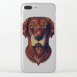 Labrador (Color Version) Clear iPhone Case