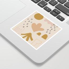 growth pattern Sticker