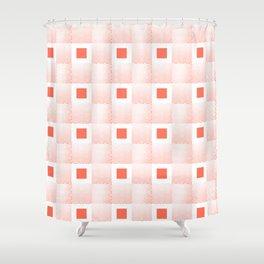 Rachel's Wavy Coral Pattern Shower Curtain