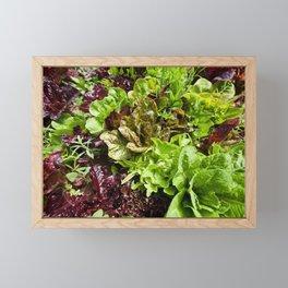 Greens Framed Mini Art Print